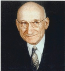Robert Schuman, one of the founders of the ECSC and hence the EU – public domain