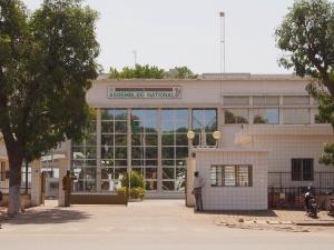 Assemblée Nationale in the capital city of Ouagadougou - By Sputniktilt CC-BY-SA 30