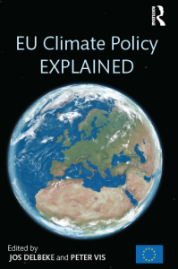 Cover of the book 'EU Climate Policy Explained' - by Peter VIS