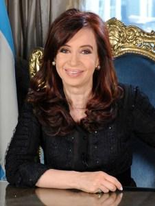 President Cristina Fernandez de Kirchner - by presidencia.gov.ar, licensed under CC BY 2.0