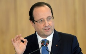 France's President François Hollande is having to lead his country through its second terror attack of 2015 - Public domain