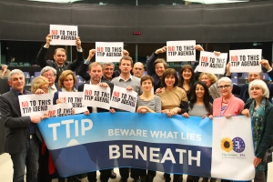 An example of anti-TTIP protests - by Greensefa, licensed under CC BY 2.0