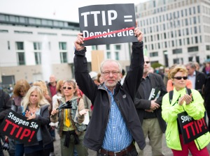 Anti-TTIP protest in Germany - by Christian Mang, licensed under CC BY-NC 2.0.