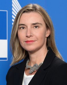 Frederica Mogherini is the current High Representative of the European Union for Foreign Affairs and Security Policy - by Nick.mon, licensed under CC BY 2.0