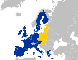 The EU's 2004 enlargement was one of the most successful instances of its structural foreign policy to date - unknown, licensed under CC BY-SA 2.5