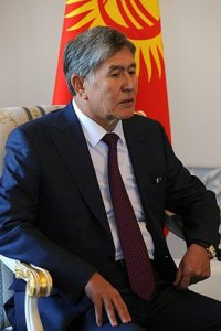 Almazbek Atambayev - by Krassotkin, licensed under CC BY 4.0