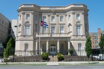 The new Cuban embassy in Washington D.C. - by difference engine, licensed under CC BY-SA 4.0