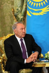 President Nursultan Nazarbayev - by Барвенковский, licensed under CC BY 4.0